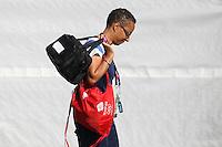 GB Coach Hope Powell - Team GB Women training at Cardiff University, Cardiff, Wales - 27/07/12 - MANDATORY CREDIT: Gavin Ellis/SHEKICKS/TGSPHOTO - Self billing applies where appropriate - 0845 094 6026 - contact@tgsphoto.co.uk - NO UNPAID USE.