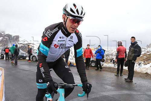 24th May 2021, Giau Pass, Italy; Giro d'Italia, Tour of Italy, route stage 16, Sacile to Cortina d'Ampezzo ; 182 HEPBURN Michael AUS