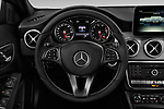 Car pictures of steering wheel view of a 2019 Mercedes Benz GLA 250 4MATIC 5 Door SUV