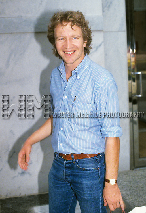 Craig Wasson pictured in New York City on July 11, 1981.