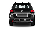 Straight rear view of 2022 Citroen C3-Aircross Shine 5 Door SUV Rear View  stock images