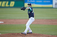 Lynchburg Hillcats starting pitcher Joshua Wolf (30) in action against the Myrtle Beach Pelicans at Bank of the James Stadium on May 22, 2021 in Lynchburg, Virginia. (Brian Westerholt/Four Seam Images)
