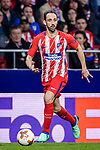 Juan Francisco Torres Belen, Juanfran, of Atletico de Madrid in action during the UEFA Europa League quarter final leg one match between Atletico Madrid and Sporting CP at Wanda Metropolitano on April 5, 2018 in Madrid, Spain. Photo by Diego Souto / Power Sport Images