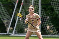 NEWTON, MA - MAY 16: Courtney Weeks #6 of Boston College game portrait during NCAA Division I Women's Lacrosse Tournament second round game between Temple University and Boston College at Newton Campus Lacrosse Field on May 16, 2021 in Newton, Massachusetts.