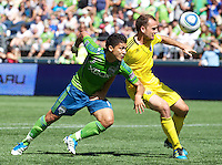 Seattle Sounders FC vs Columbus Crew August 27 2011