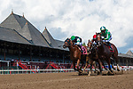 August 22, 2020: Fast Getaway #1, ridden by Jose Ortiz, wins the 3rd race on The FourStarDave day at Saratoga Race Course in Saratoga Springs, New York. Rob Simmons/CSM