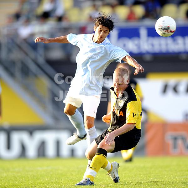 voetbalbv veendam - moluks team benefietwedstrijd 18-08-2009 martijn van der laan.