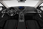 Stock photo of straight dashboard view of a 2020 Acura RDX RDX 5 Door SUV