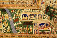 im Govindram Girdarilal Sigtia Haveli in  Bissau (Rajasthan), Indien