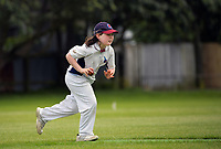 Action from the Wellington junior cricket year 7 match between Karori Keas and Eastern Suburbs Harriers at Miramar Park in Wellington, New Zealand on Saturday, 21 November 2020. Photo: Dave Lintott / lintottphoto.co.nz