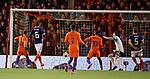 Depay Memphis scores for the Netherlands past Scotland keeper Craig Gordon