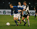 13/12/03          Copyright Pic : James Stewart.File Name : stewart001-ayr v st john.SIMON DONNELLY HOLDS OFF AY'RS DUNLOP....Payment should be made to :-.James Stewart Photo Agency, 19 Carronlea Drive, Falkirk. FK2 8DN      Vat Reg No. 607 6932 25.Office     : +44 (0)1324 570906     .Mobile  : +44 (0)7721 416997.Fax         :  +44 (0)1324 570906.E-mail  :  jim@jspa.co.uk.If you require further information then contact Jim Stewart on any of the numbers above.........