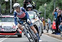 Vincenzo Nibali (ITA/Trek-Segafredo)<br /> <br /> 104th Giro d'Italia 2021 (2.UWT)<br /> Stage 1 (ITT) from Turin to Turin (8.6 km)<br /> <br /> ©kramon