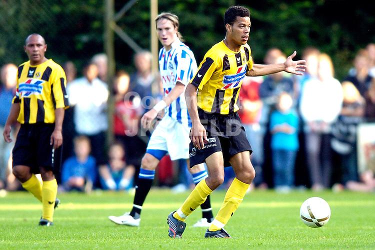 heerenveen - bv veendam voorbereiding seizoen 2007-2008 26-07-2007 angelo zimmerman