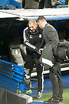 Benzema of Real Madrid during Champions League match between Real Madrid and Ludogorets at Santiago Bernabeu Stadium in Madrid, Spain. December 09, 2014. (ALTERPHOTOS/Luis Fernandez)