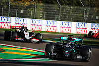 31st October 2020, Imola, Italy; FIA Formula 1 Grand Prix Emilia Romagna, Free Practise sessions;  44 Lewis Hamilton GBR, Mercedes-AMG Petronas Formula One Team