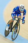 Ho Kin Ming of the Cyclone competes in Men Junior - Omnium II Tempo Race during the Hong Kong Track Cycling National Championship 2017 on 25 March 2017 at Hong Kong Velodrome, in Hong Kong, China. Photo by Chris Wong / Power Sport Images