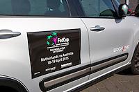 April 16, 2015, Netherlands, Den Bosch, Maaspoort, Fedcup Netherlands-Australia,  official car<br /> Photo: Tennisimages/Henk Koster