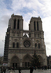 Views of Notre Dame Cathedral on August 1, 2018 in Paris, France.