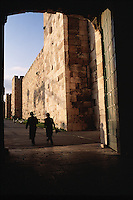 The Jaffa Gate. Jerusalem, Israel.