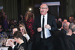 © Joel Goodman - 07973 332324 . 03/03/2016 . Manchester , UK . Team of the Year winner - Regulatory , IAN LEWIS (obo LHS Solicitors ) (centre) . The Manchester Legal Awards from the Midland Hotel . Photo credit : Joel Goodman