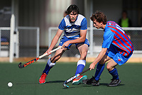 Action from the Upper North Island Boys' Secondary School Hockey Championship at North Harbour Hockey in North Shore, Auckland, New Zealand on Wednesday, 7 October 2020 Photo: Simon Watts / www.bwmedia.co.nz