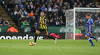 Watford's Roberto Pereyra <br /> <br /> Photographer Stephen White/CameraSport<br /> <br /> The Premier League - Leicester City v Watford - Saturday 1st December 2018 - King Power Stadium - Leicester<br /> <br /> World Copyright © 2018 CameraSport. All rights reserved. 43 Linden Ave. Countesthorpe. Leicester. England. LE8 5PG - Tel: +44 (0) 116 277 4147 - admin@camerasport.com - www.camerasport.com
