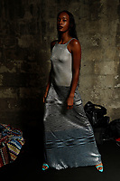MILAN, ITALY - SEPTEMBER 24: Models backstage at the Missoni fashion show, during the Milan Fashion Week - Spring / Summer 2021 on September 24, 2021 in Milan, Italy. <br /> CAP/GOL<br /> ©GOL/Capital Pictures