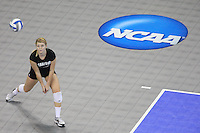 Omaha, NE - DECEMBER 20:  Defensive specialist Katherine Knox #6 of the Stanford Cardinal during Stanford's 20-25, 24-26, 23-25 loss against the Penn State Nittany Lions in the 2008 NCAA Division I Women's Volleyball Final Four Championship match on December 20, 2008 at the Qwest Center in Omaha, Nebraska.