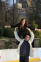 04-08-13 Skating with the Stars - Rebecca Budig, Tamara Tunie, Rhonda Ross, Scott Hamilton, Evan Lys