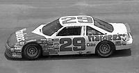 Dale Jarrett (29) Pontiac 31st place action Pepsi 400 at Daytona International Speedway in Daytona beach, FL on July 1, 1989. (Photo by Brian Cleary/www.bcpix.com)