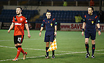 Linesman and referee at the end
