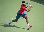August  16, 2017:  Frances Tiafoe (USA) defeated Alexander Zverev (GER) 4-6, 6-3, 6-4, at the Western & Southern Open being played at Lindner Family Tennis Center in Mason, Ohio. ©Leslie Billman/Tennisclix/CSM