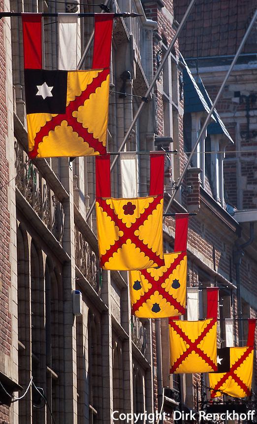 Belgien, Flandern, Altstadt in Leuven in Brabant