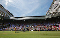 England, London, Juli 04, 2015, Tennis, Wimbledon, Overall view of Cenrecourt<br /> Photo: Tennisimages/Henk Koster