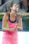 Julia Goerges during Madrid Open Tennis 2015 match.May, 5, 2015.(ALTERPHOTOS/Acero)