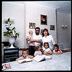 The Sharers, an orthodox Jewish family - Stamford Hill. London