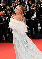 CANNES, FRANCE. July 12, 2021: Kimberley Garner at the gala premiere of Wes Anderson's The French Despatch at the 74th Festival de Cannes.<br /> Picture: Paul Smith / Featureflash