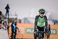 Marianne Vos (NED/Waow Deals) lining up for the start<br /> <br /> Superprestige Ruddervoorde 2018 (BEL)