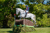 AUS-Courtney Romcke rides Coriolis during the Cross Country for the CCI-L 2* Section A. 2021 GBR-Saracen Horse Feeds Houghton International Horse Trials. Hougton Hall. Norfolk. England. Saturday 29 May 2021. Copyright Photo: Libby Law Photography