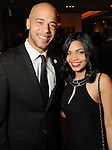 John Locke and Naiyolis Palomo at Celebrating 40 Years: University of Houston- Downtown Gala at the JW Marriott Downtown Friday Jan. 23,2015.(Dave Rossman For the Chronicle)