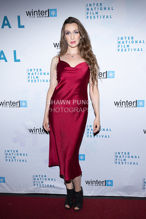 Tatiana Kurzhos attends the 10th Annual Winter Film Awards International Film Festival Gala on October 2, 2021 at 230 Fift Avenue in New York City.