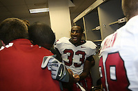 6 October 2007: Jason Evans after Stanford's 24-23 win over the #1 ranked USC Trojans in the Los Angeles Coliseum in Los Angeles, CA.