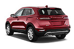 Car pictures of rear three quarter view of a 2018 Lincoln MKC FWD 5 Door SUV Angular Rear
