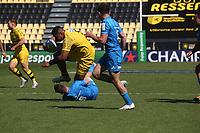 2nd May 2021; Stade Marcel-Deflandre, La Rochelle, France. European Champions Cup Rugby La Rochelle versus  Leinster Semi-Final; Will SKELTON ofSTADE ROCHELAIS
