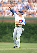 Ryan Theriot of the Chicago Cubs vs. the San Diego Padres: June 18th, 2007 at Wrigley Field in Chicago, IL.  Photo copyright Mike Janes Photography 2007.
