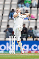 Neil Wagner, New Zealand in action during India vs New Zealand, ICC World Test Championship Final Cricket at The Hampshire Bowl on 22nd June 2021