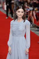 Jenna Coleman<br /> arrives for the UK premiere of<br /> 'Me Before You'<br /> Curzon Mayfair, London