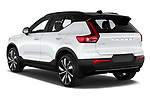 Car pictures of rear three quarter view of 2021 Volvo XC40-Recharge - 5 Door SUV Angular Rear