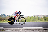 Catalina Soto Campos (CHI)<br /> <br /> Women Elite Time trial from Imola to Imola (31.7km)<br /> <br /> 87th UCI Road World Championships 2020 - ITT (WC)<br /> <br /> ©kramon